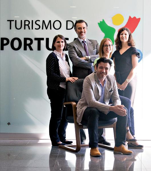 A primeira participação do Turismo de Portugal