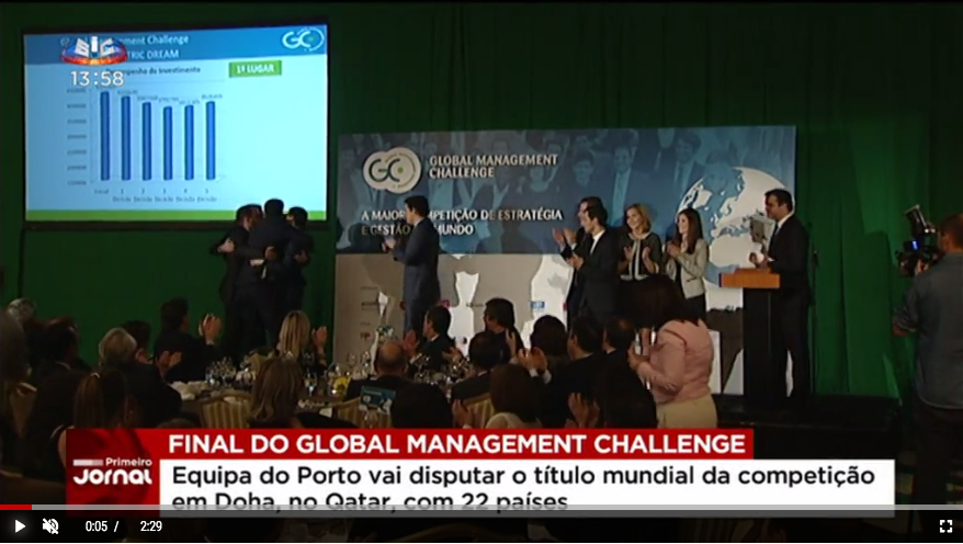 Equipa portuguesa prepara-se para a grande final do Global Management Challenge