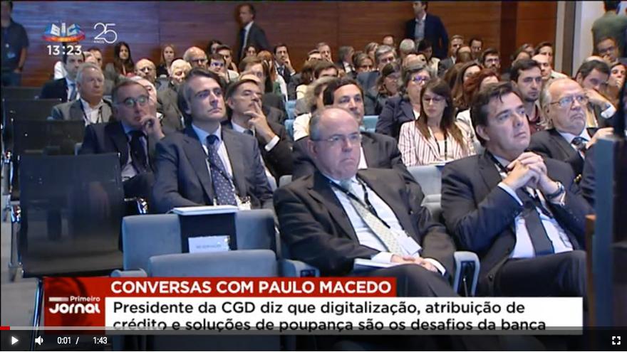 Paulo Macedo revela desafios da banca para os próximos anos