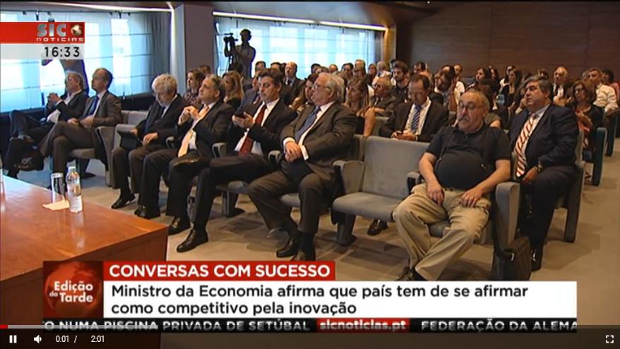 Evento AlumniGMC – Conversas com Sucesso:  Manuel Caldeira Cabral, Ministro da Economia