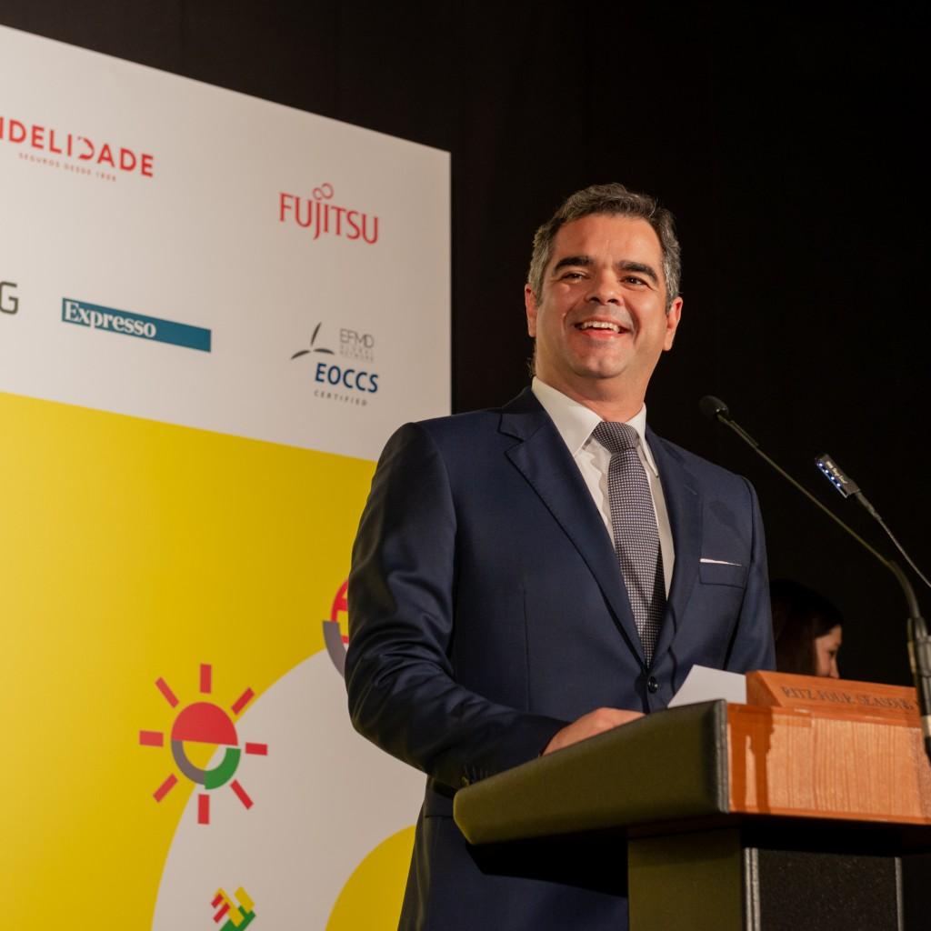 João Matoso Henriques na entrega de prémios da Final Nacional