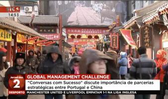 Parcerias estratégicas entre Portugal e China foram o tema do Conversas com Sucesso