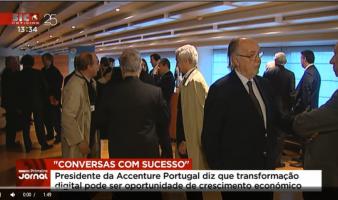 Evento AlumniGMC – Conversas com Sucesso:  José Gonçalves, Presidente da Accenture Portugal