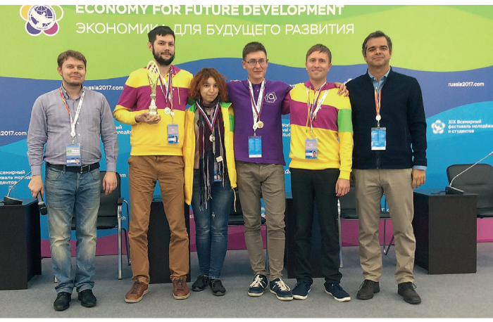 Young people from 20 countries tested management simulator